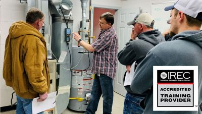 Learn Residential Energy Efficiency- IREC Training